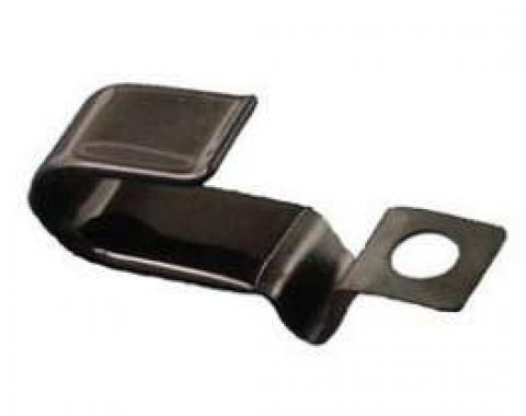 Firebird Battery Cable Retaining Clip, Oil Pan, For Positive Cable, 1967-1969