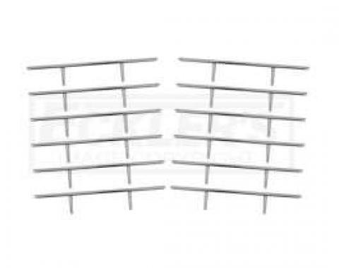 Firebird Quarter Panel Louver Trim, 1967-1968