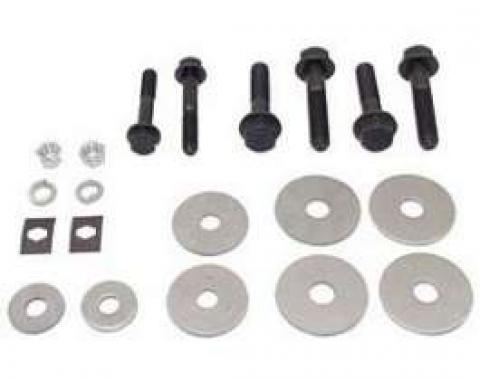 Firebird Subframe & Radiator Support Mounting Bushing & Hardware Set, 1967-1969