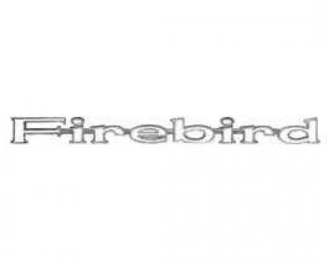 Firebird Fender Emblem, 1967-1969