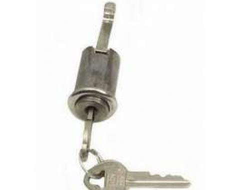 Firebird Glove Box Lock, With Original Style Keys, 1967