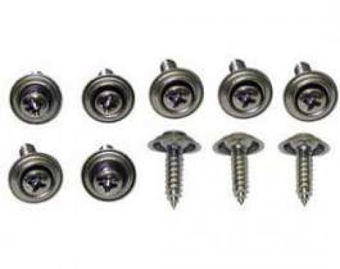 Firebird Kick Panel Mounting Screw Set, 1967-1969