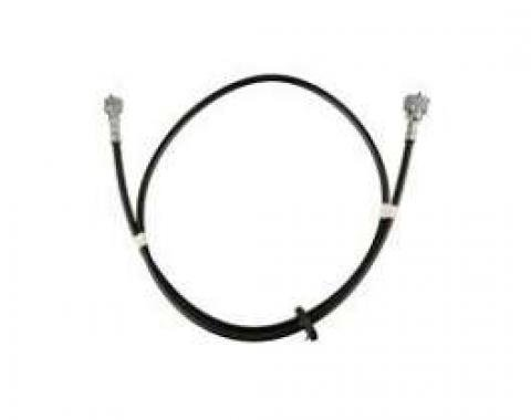 Firebird Speedometer Cable Assembly, 58, With Firewall Grommet, 1967-1968