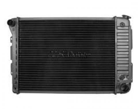 Firebird Radiator, For Cars With Manual Transmission, U.S. Radiator, 1967-1969