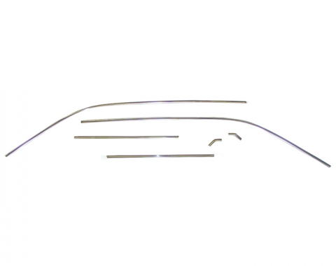 Camaro Roof Drip Rail Molding Set, 1967-1969