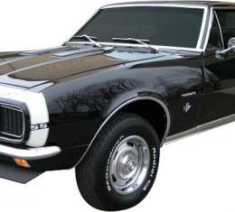 1967-68 Camaro Bumble Bee Black Stripe Decal Set