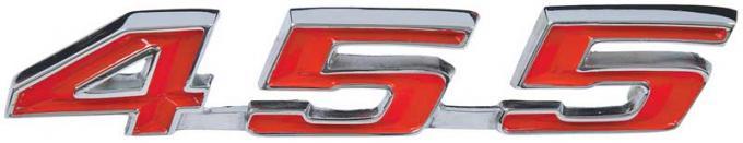 1967-69 Firebird 455 Trunk Emblem