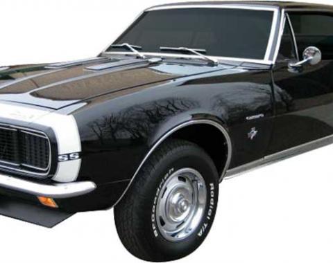 1967-68 Camaro Bumble Bee Stripe Decal Set | Black