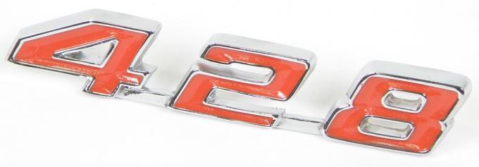 1967-69 Firebird 428 Trunk Emblem