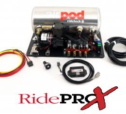 Ridetech 3 Gallon AirPod with RidePro-X Control System 30414000