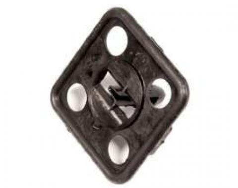 Hood Insulation Clip, Plastic Small Square, 1964-1981