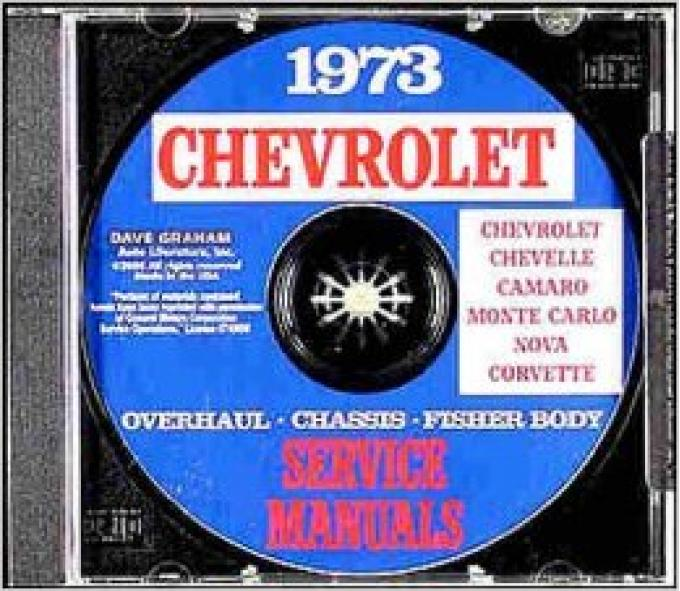 Chevy Service Manual On CD, 1973