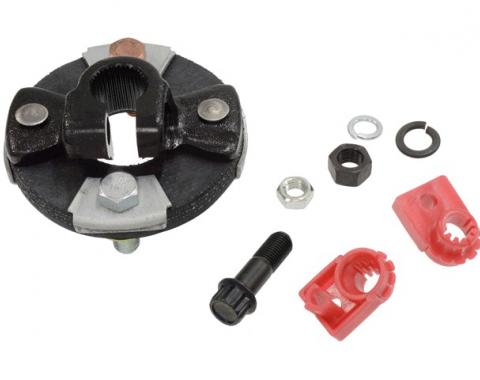 Steering Shaft Coupler Assembly, For Cars With Manual Steering, 1967-1969
