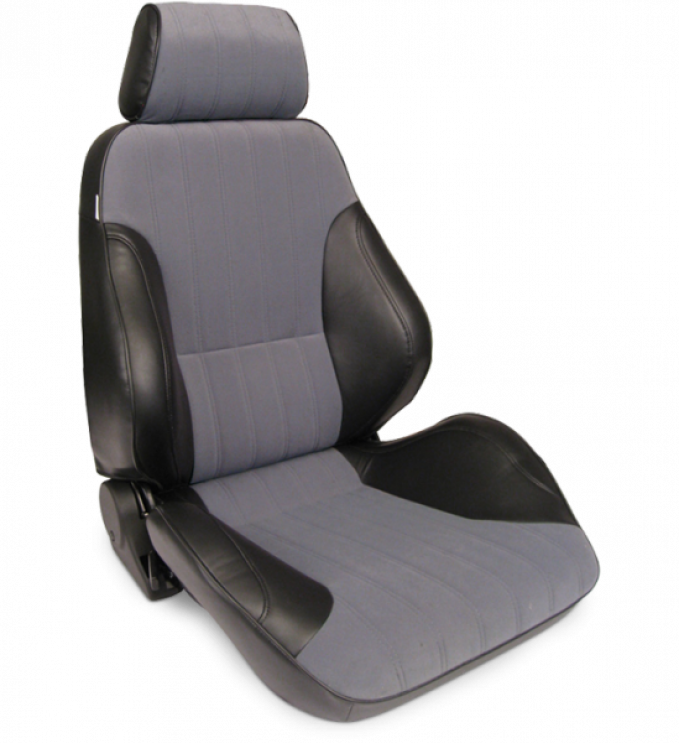 Procar Rally Seat, with Headrest, Right, Velour