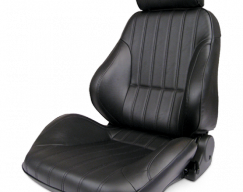 Procar Rally Seat, with Headrest, Left, Vinyl