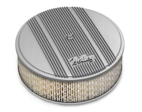 Holley Round Finned Air Cleaner 120-159