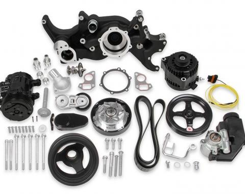 Holley Accessory Drive System Kit 20-185BK