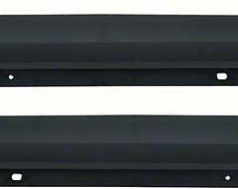 OER 1970-73 Camaro / Firebird Upper Door Panel Top Rails - Standard Interior - Pair K302
