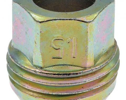 """OER Metric Lug Nut 12mm x 1.50mm with External Threads for Plastic Cap - 1"""" tall 9594683"""