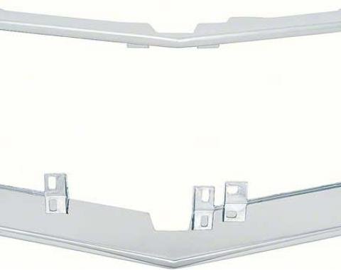 OER 1970-73 Camaro Rally Sport Chrome Grill Surround 3973942