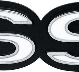 "OER 1967-68 Camaro SS (with RS) 68-69 Nova ""SS"" Grill Emblem 3918871"
