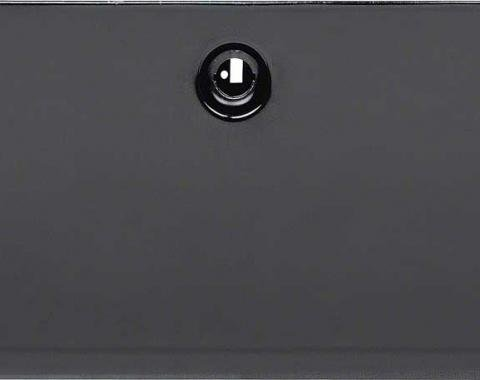OER 1967-68 Camaro / Firebird Black Glove Box Door 3891663