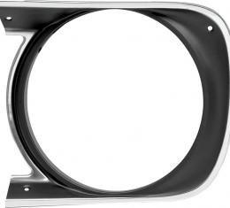 OER 1968 Camaro Standard Headlamp Bezel, LH 3914769