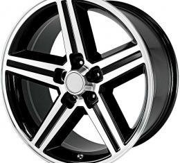 "OER 18"" x 8"" IROC Replica Wheel Gloss Black with Machined Face PR148881"