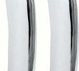 Camaro Rear Bumper Guards, Chrome, Standard, 1969