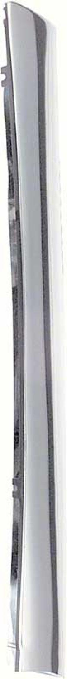 OER 1967-69 Camaro / Firebird Convertible Pillar Post Outer Molding, RH 7648738