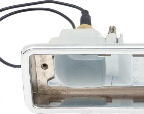 OER 1967-68 Camaro Rally Sport Back Up Lamp Housing, RH 911480