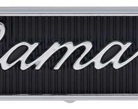 OER 1968-69 Camaro Standard Door Panel Emblems with Script Lettering 7746554