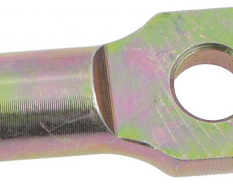"""OER 1-1/2"""" Brake Pedal Rod Extension with 3/8"""" hole - Zinc Plated 153661"""
