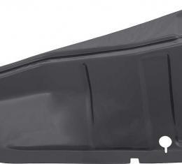 OER 1967-68 Camaro / Firebird Trunk Lower Side Panel Drop Down Extension, LH C109L