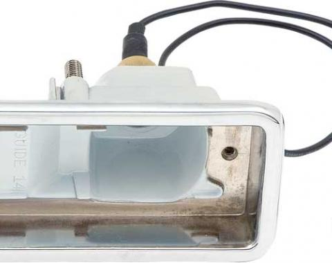 OER 1967-68 Camaro Rally Sport Back Up Lamp Housing, LH 911479