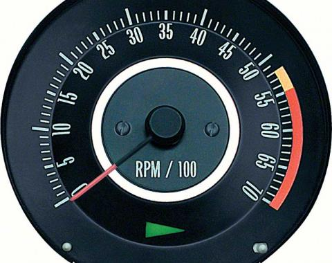 OER 1967 Camaro 350 or 396/325HP Tachometer with 5500 Red Line 6468910