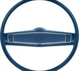 OER 1969-70 Dark Blue Steering Wheel Kit With Dark Blue Shroud *R3496