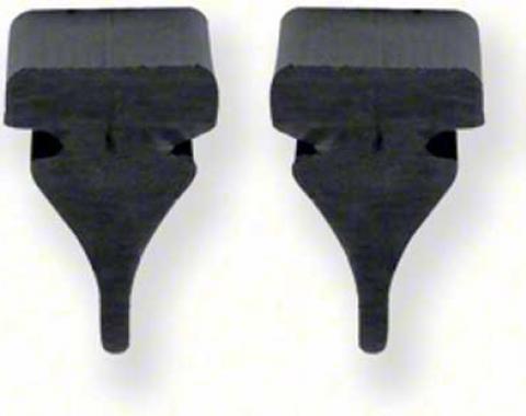 OER 1967-69 Firebird Radiator Support Filler Panel Bumper Set (4Pcs) 9789299