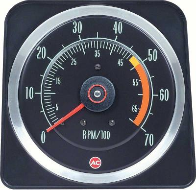 "OER 1969 Camaro SS 350 5"" X 7"" Tach with 5000 Red Line 6469381"