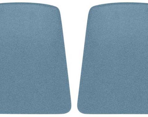 OER 1967 Camaro Light Blue Bucket Seat Back Panels K1073