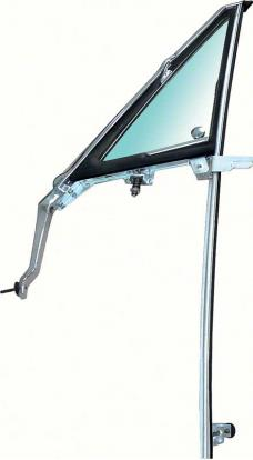 OER 1967 Vent Window Frame Assembly with Tinted Glass LH F527T