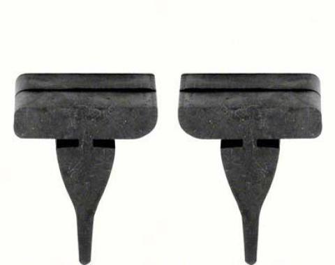 OER 67-68 Firebird Rubber Hood Bumpers (4) K131