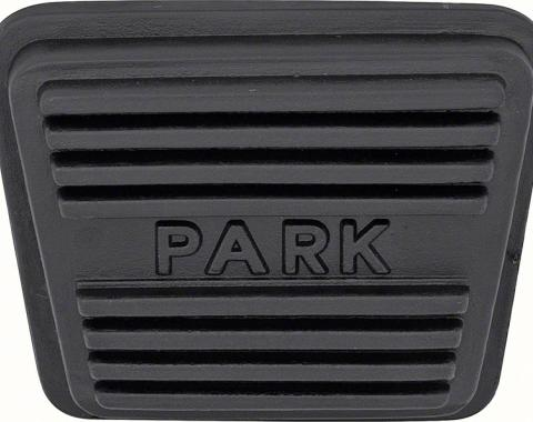 OER 1964-90 Park Brake Pedal Pad - Various GM Makes and Models 3893181