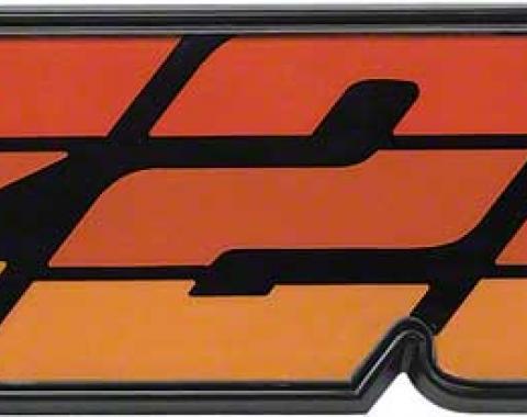"OER 1980-81 Camaro Orange ""Z28"" Grill Emblem 14024338"