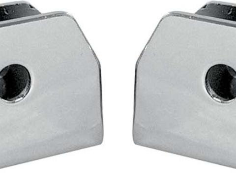 OER - Console Seat Belt Clip Set for 1967 Camaro and Firebird Models 3913682