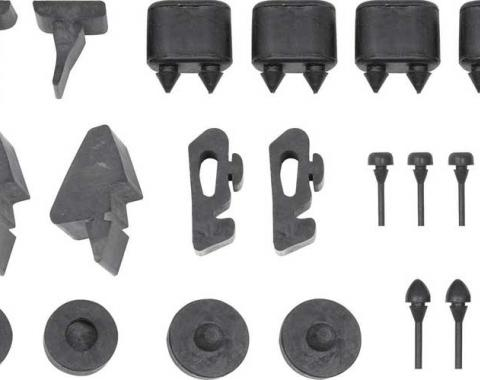 OER 1967-68 Firebird Rubber Stopper Kit *K88060