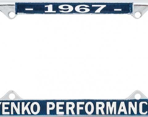OER 1967 Yenko Performance License Frame YF1967