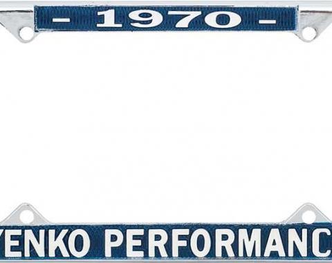 OER 1970 Yenko Performance License Frame YF1970