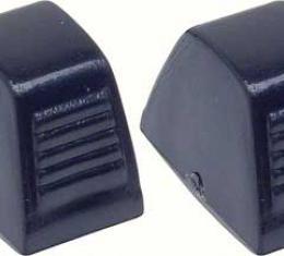 OER 1965-81 Black Heater Control Knob Set K409