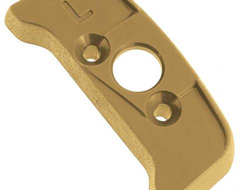 OER 1974-92 Seat Belt Shoulder Belt Guide Escutcheon - LH - Buckskin 20552364